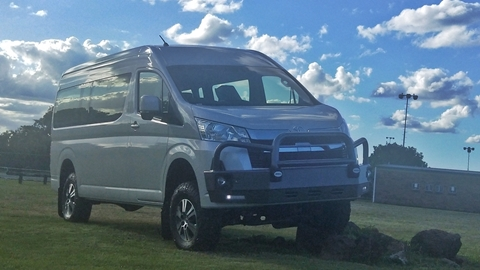 Review of Bus 4×4 GL Commuter Conversion